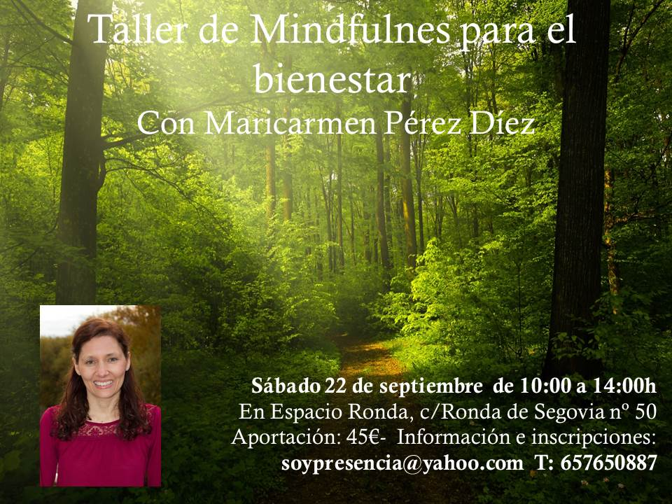 Taller de Mindfulness para el bienestar