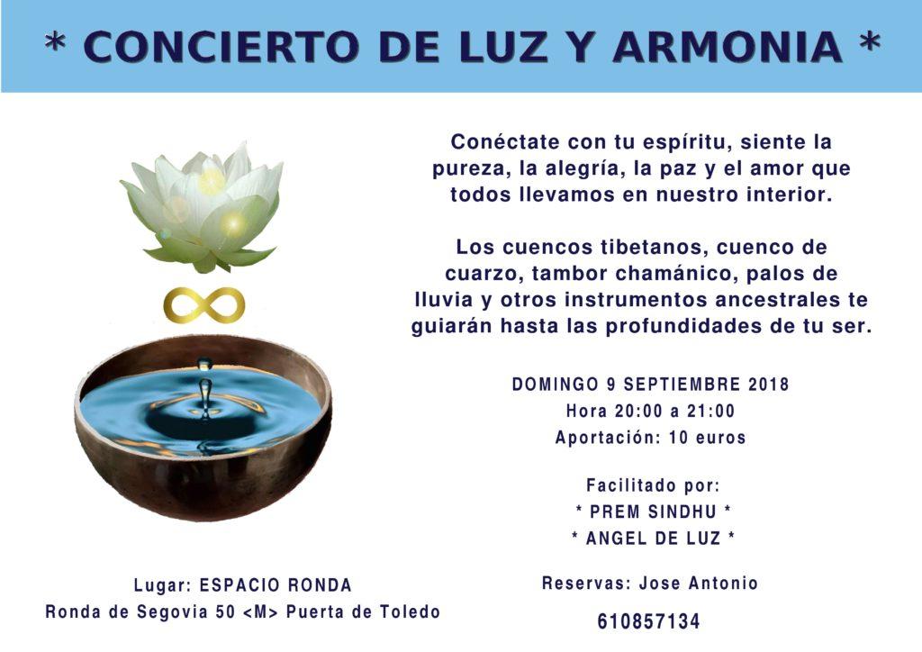 Concierto de Luz y Armonía
