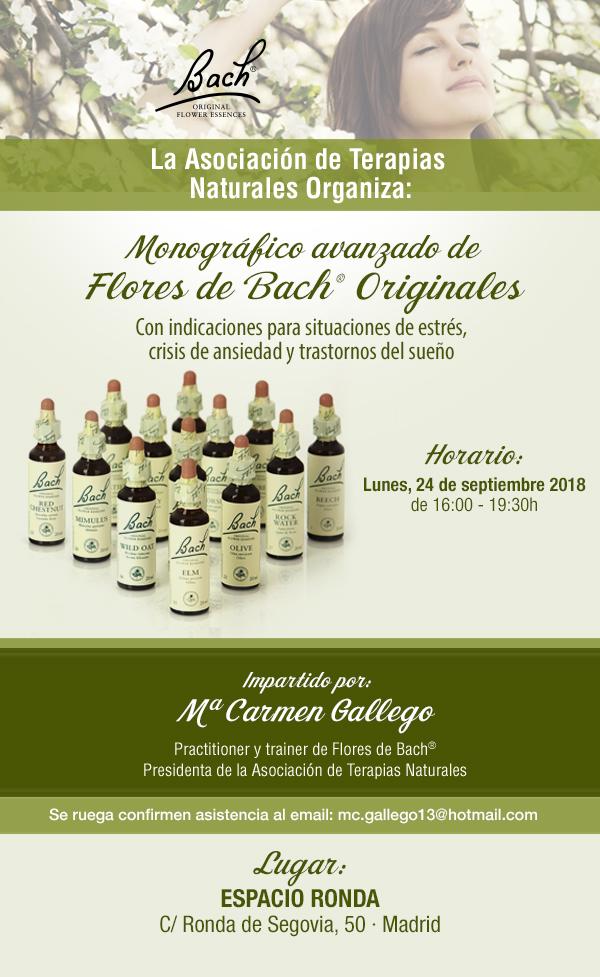 Monográfico avanzado de Flores de Bach Originales