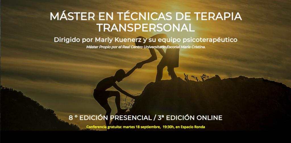 """Presentación del taller """"Máster en técnicas de terapia transpersonal"""""""