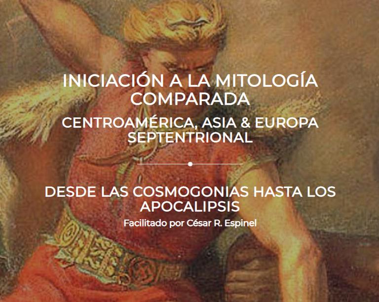 "Presentación del taller ""Iniciación a la mitología comparada - Centroamérica, Asia y Europa Septentrional"""