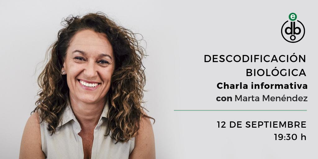 Charla informativa con Marta Menéndez