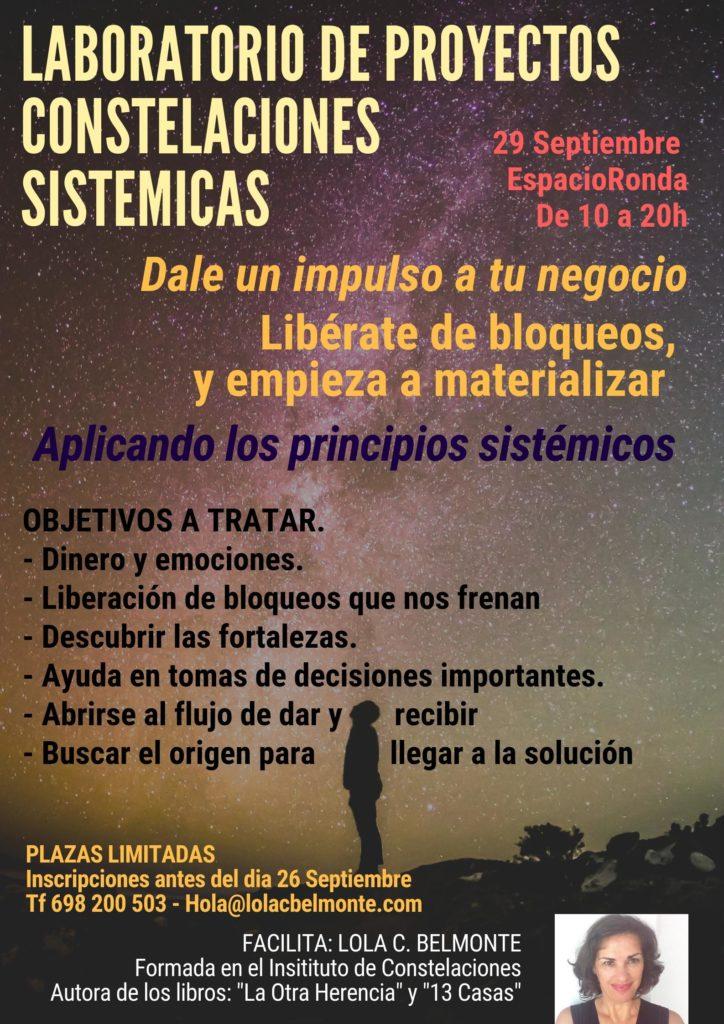 Laboratorio de Proyectos. Constelaciones para la Abundancia