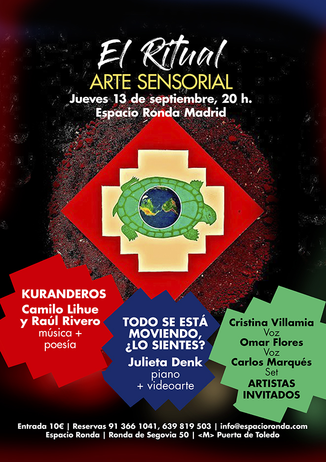 """EL RITUAL"" Arte Sensorial"
