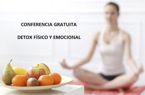 """Conferencia gratuita """"Detox físico y emocional"""" con meditación activa"""