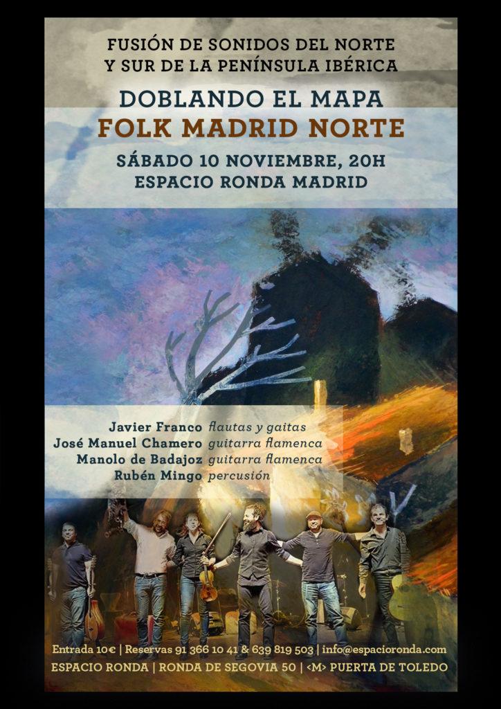 """Fusión de sonidos del norte y sur de la península ibérica """"Doblando el mapa"""""""