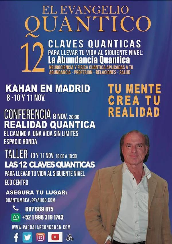 """Conferencia """"Realidad Quantica"""" El camino a una vida sin límites"""