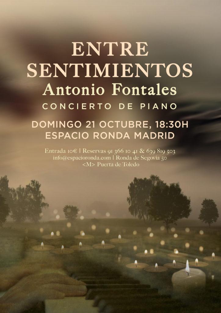 """Concierto de piano """"Entre sentimientos"""""""