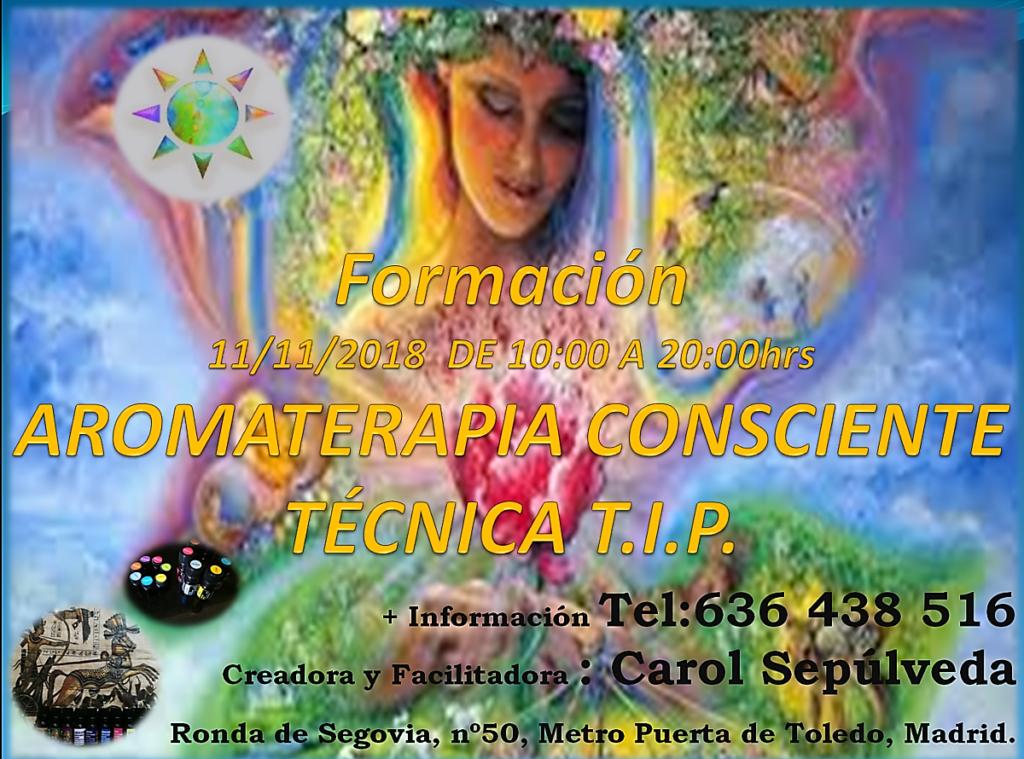 Formación Aromaterapia Consciente Técnica T.I.P.