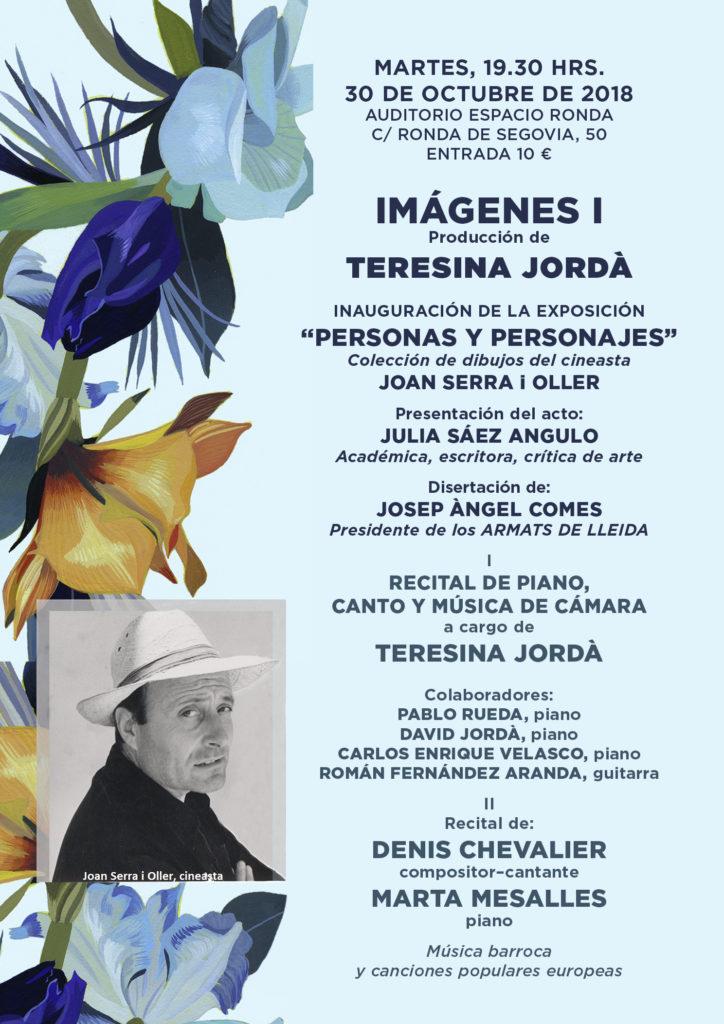 """""""IMÁGENES I"""" Producción de Teresina Jordà"""