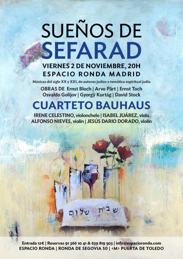 """""""Sueños de Sefarad"""" El Cuarteto de Bauhaus"""