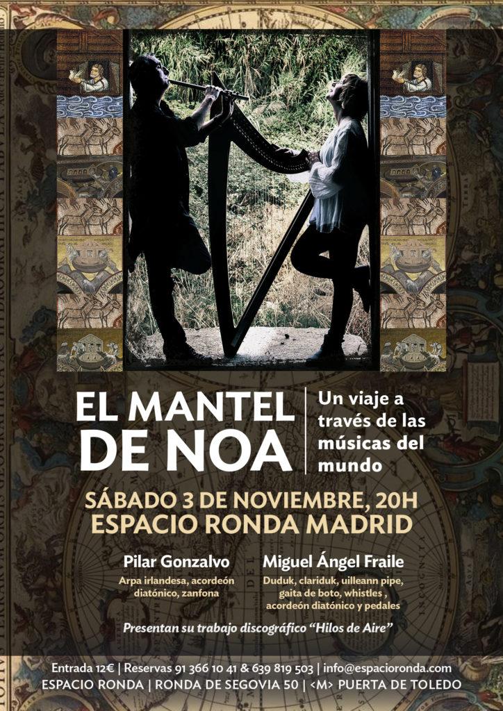 """""""Un viaje a través de las músicas del mundo"""" El Mantel de Noa"""