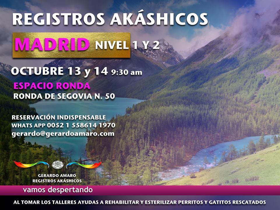 """""""Registros Akáshicos"""" Gerardo Amaro - Nivel 1 y 2"""