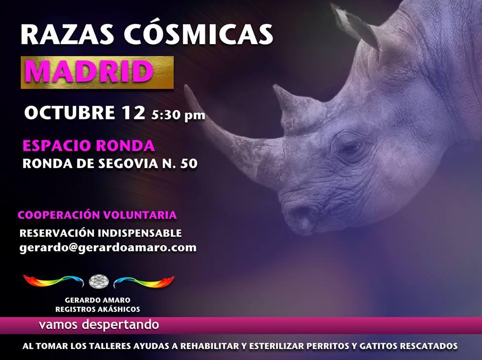 """""""Razas cósmicas"""" Gerardo Amaro - Registros Akáshicos"""