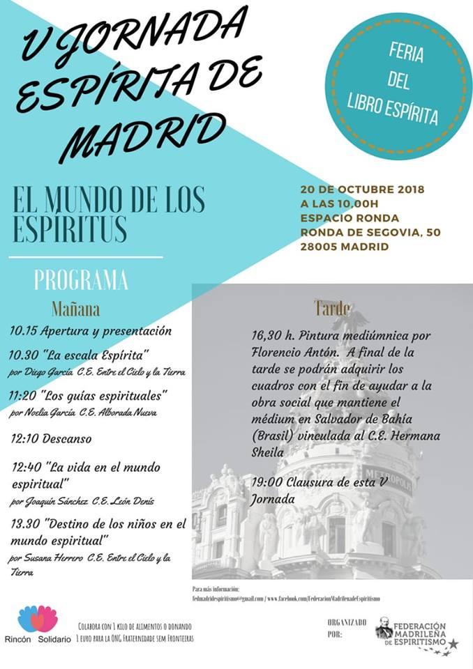 V Jornada Espírita de Madrid