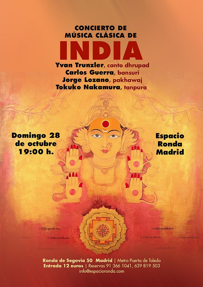 Concierto de Música Clásica de India
