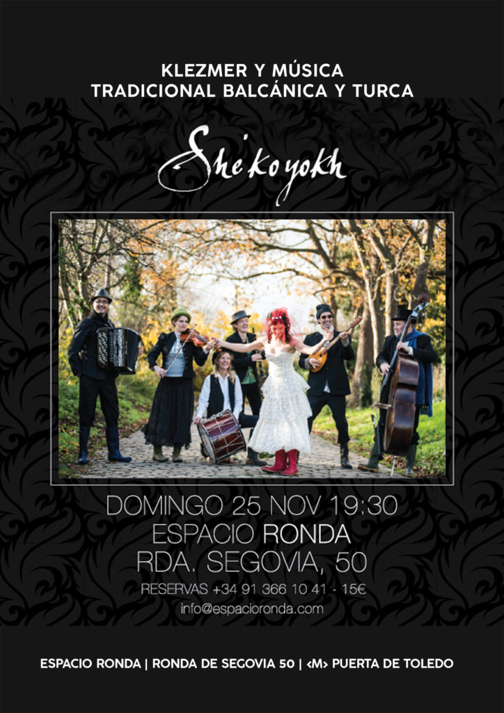 She'Koyokh. Klezmer y músicatradicional balcánica y turca