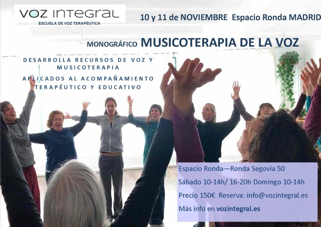 Musicoterapia de la Voz - Escuela de voz terapéutica