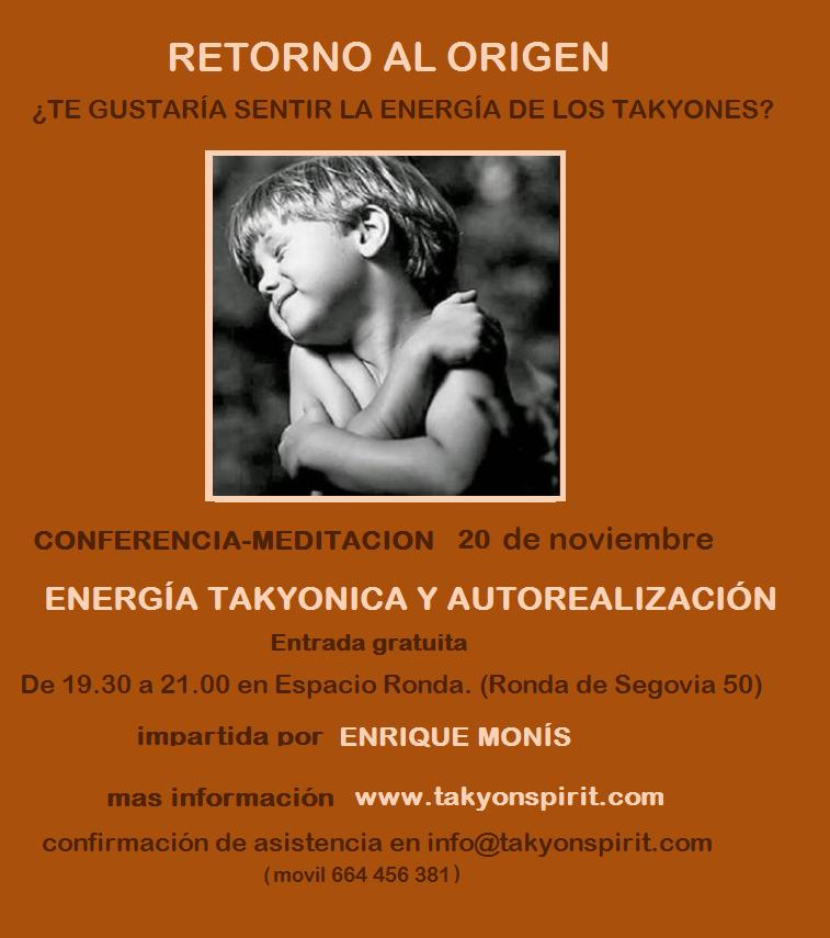"Conferencia ""Retorno al Origen"""