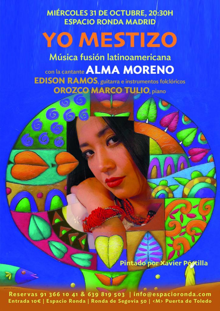 """Música fusión latinoamericana """"Yo Mestizo"""""""