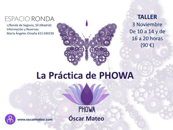 """Taller """"La Práctica de Phowa"""""""