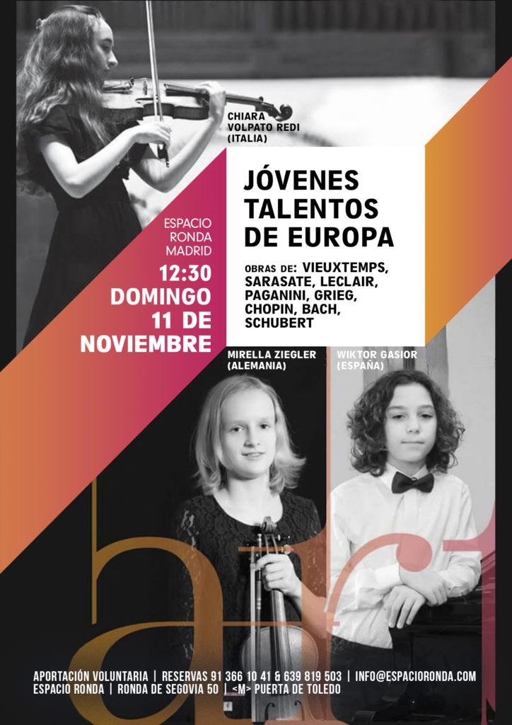 Jóvenes talentos de Europa