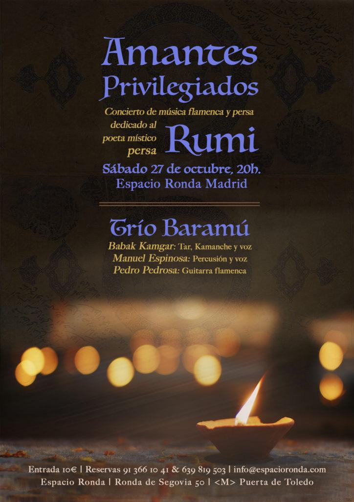 """Concierto de música flamenca y persa """"Amantes Privilegiados"""""""
