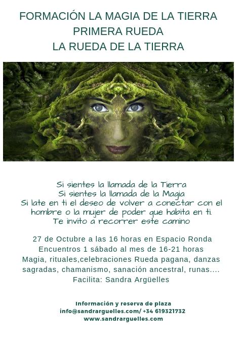 """Formación """"La Magia de la Tierra"""" Primera Rueda - La Rueda de la Tierra"""