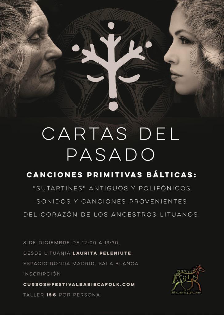 """""""Laurita Peleniute"""" Cartas del pasado - Canciones Primitivas Bálticas"""