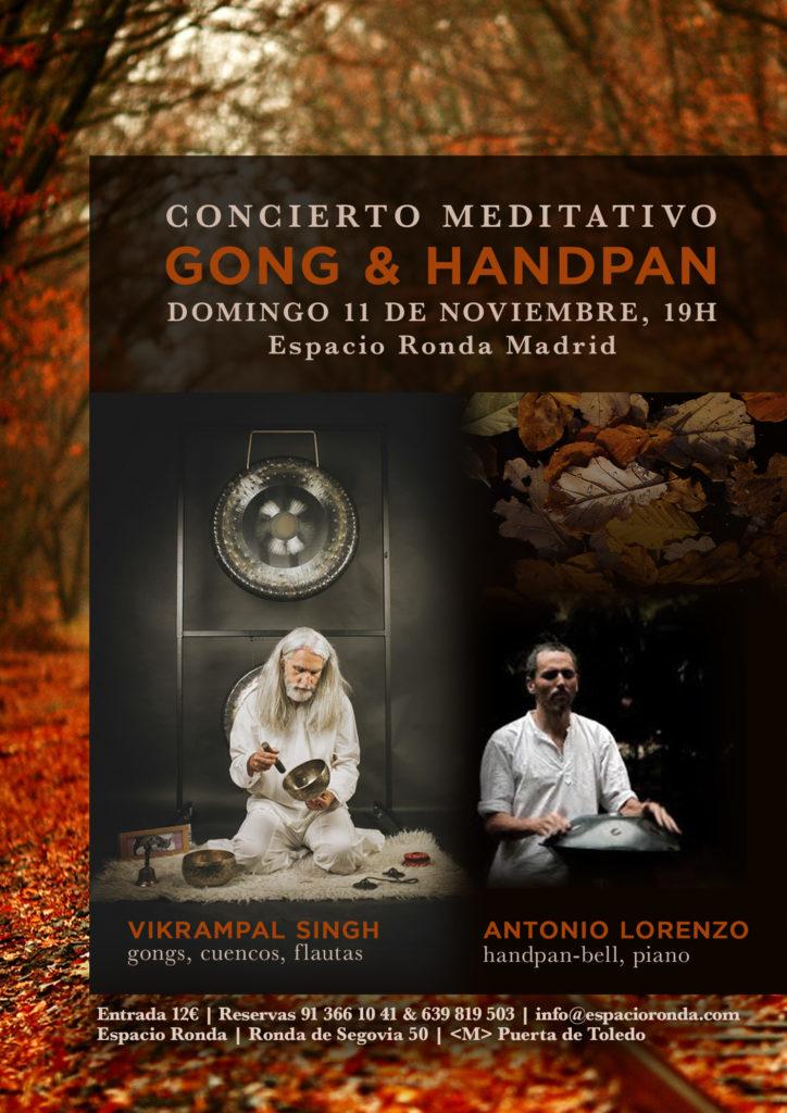 """Concierto meditativo """"Gong & Handpan"""""""