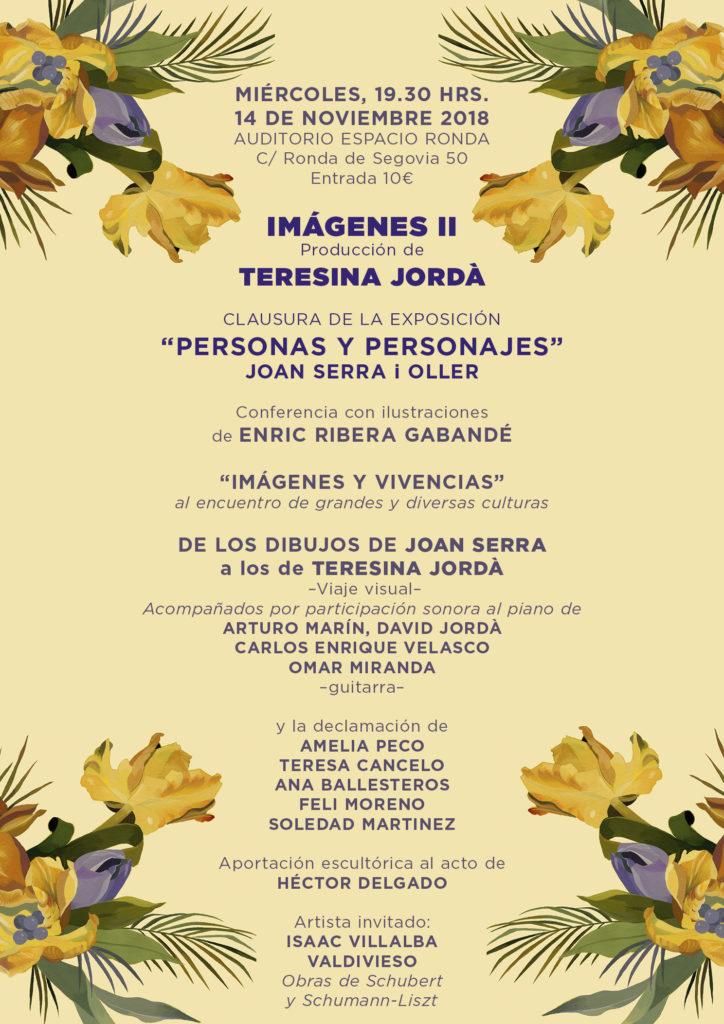 """""""IMÁGENES II"""" producción de Teresina Jordà"""