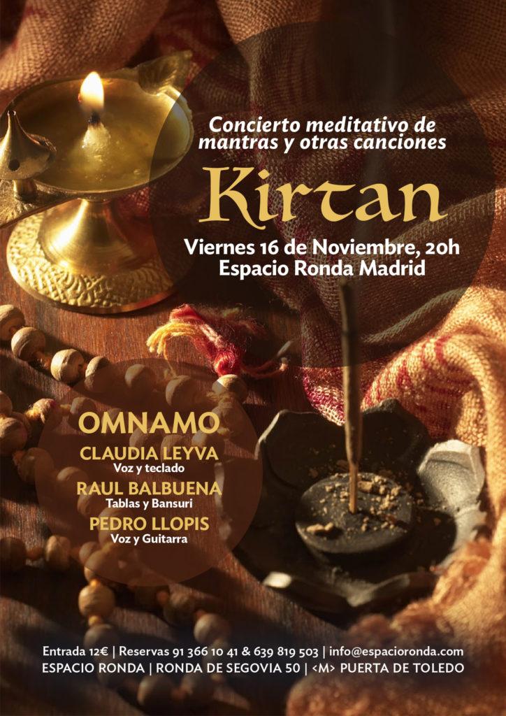 """""""Kirtan"""" Concierto meditativo de mantras y otras canciones"""