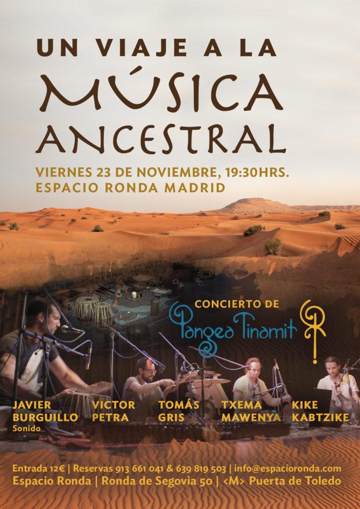 """""""Nuevas Músicas Antiguas"""" Pangea Tinamit en concierto"""