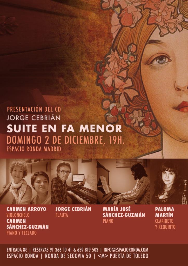 """Presentación del CD """"Suite en fa menor"""""""