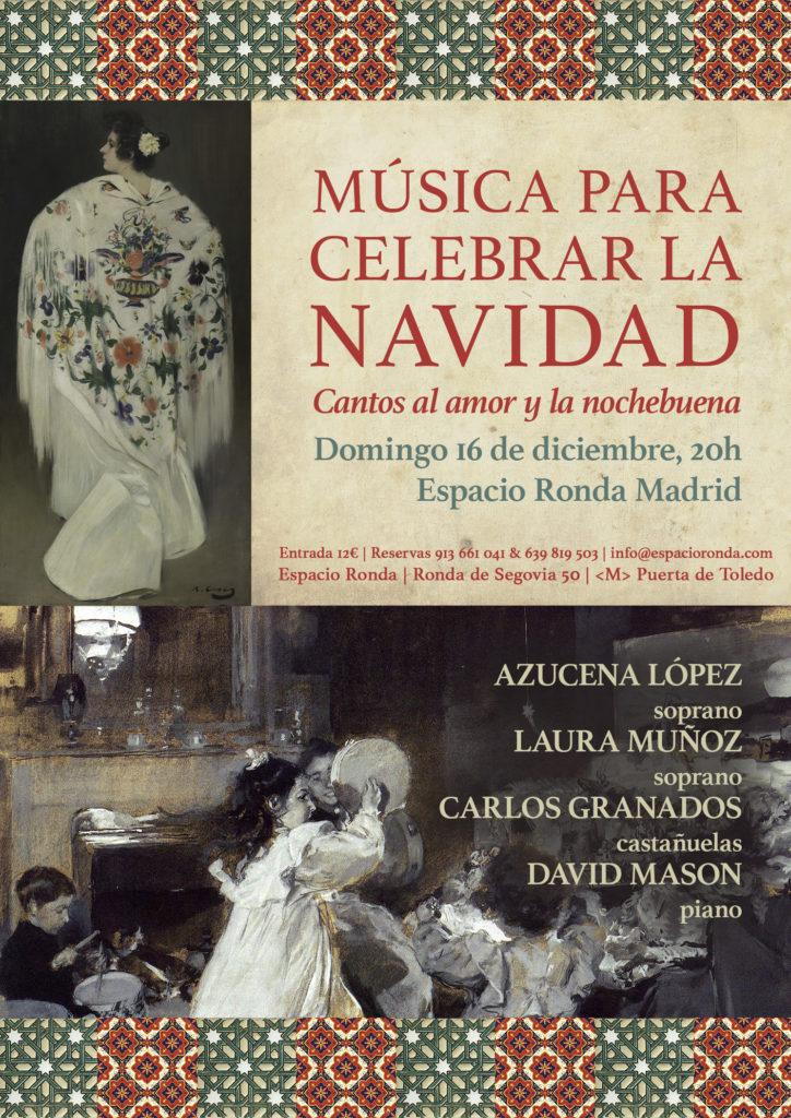 """Música para celebrar la navidad """"Cantos al amor y a la nochebuena"""""""
