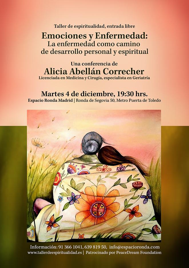 """Conferencia Pública - """"Emociones y Enfermedad"""" La enfermedad como camino de desarrollo personal y espiritual"""