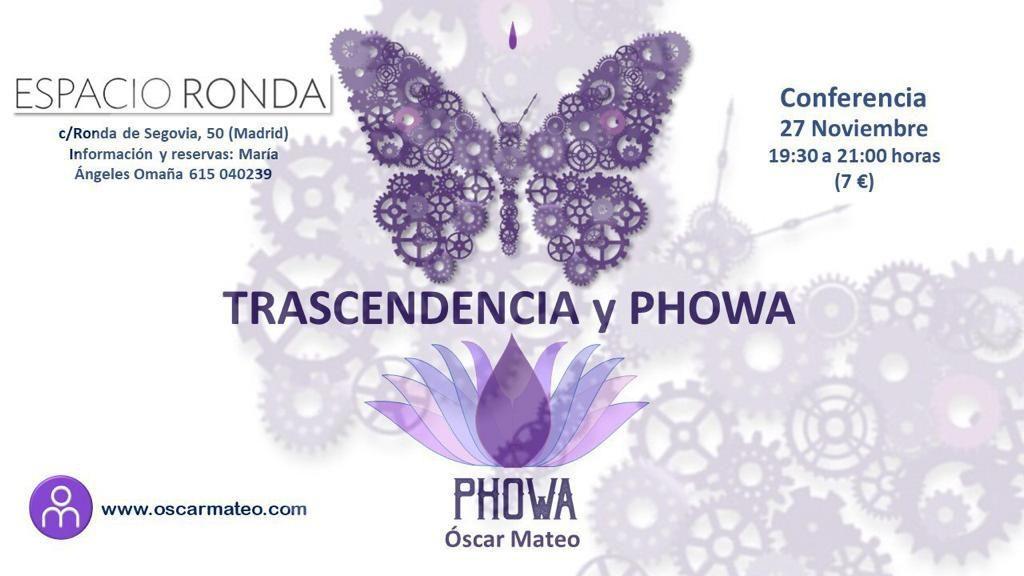 """Conferencia """"Trascendencia y Phowa"""""""