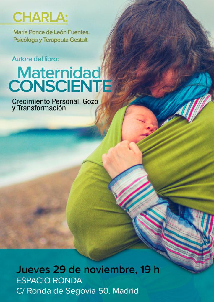 """Presentación del libro """"Maternidad Consciente"""" de María Ponce"""