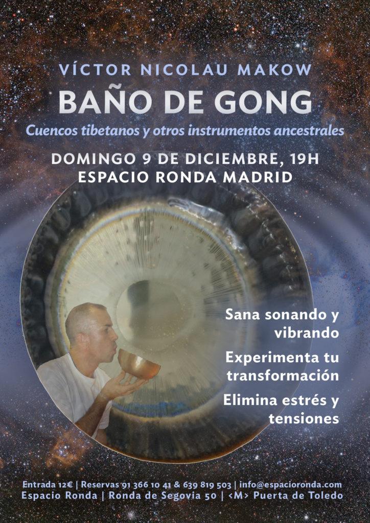 Baño de gong - Victor Nicolau Makow