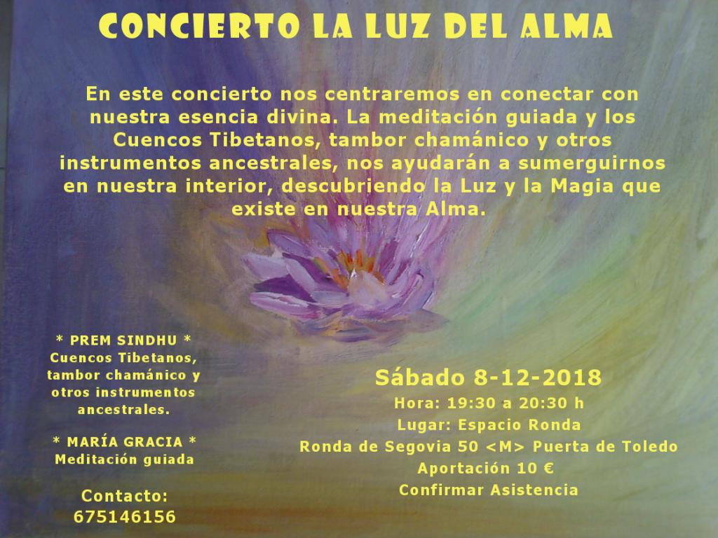"""Concierto """"La Luz del Alma"""""""