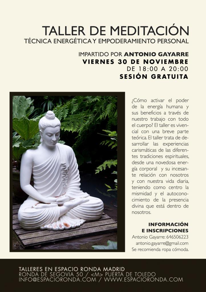 Taller de Meditación - Sesión gratuita