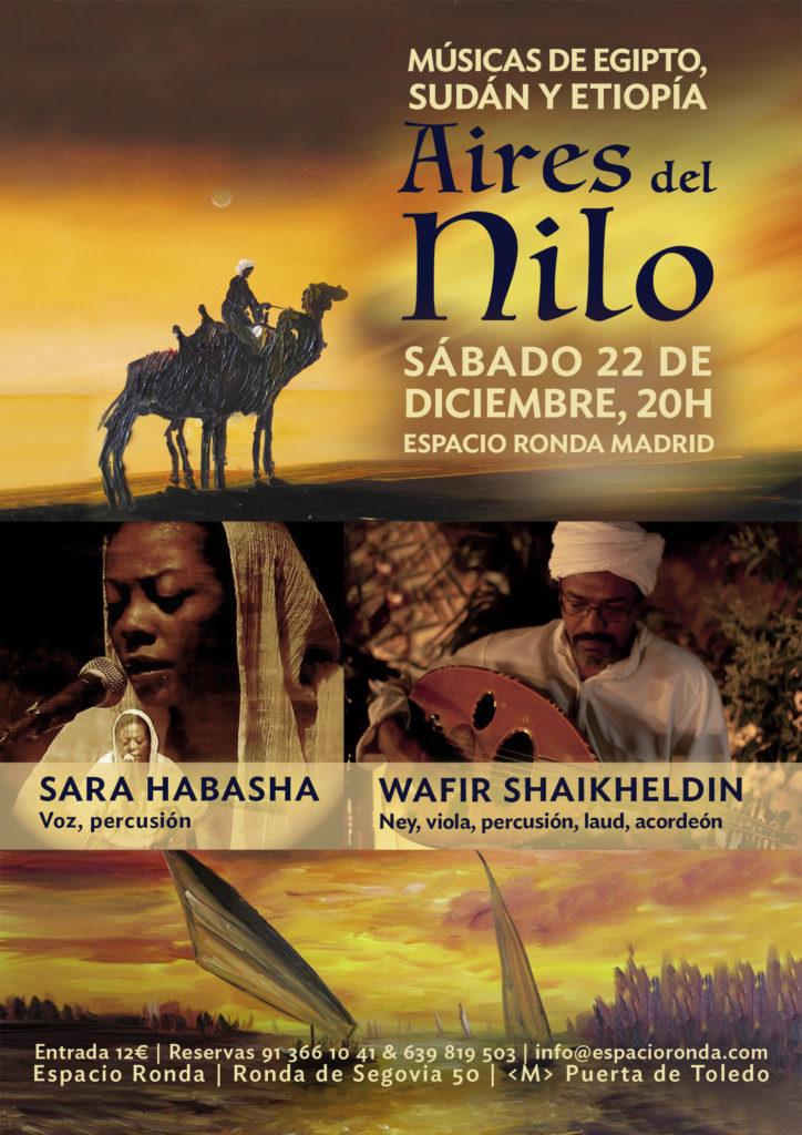 """""""Aires del Nilo"""" Músicas de Egipto, Sudán y Etiopía"""