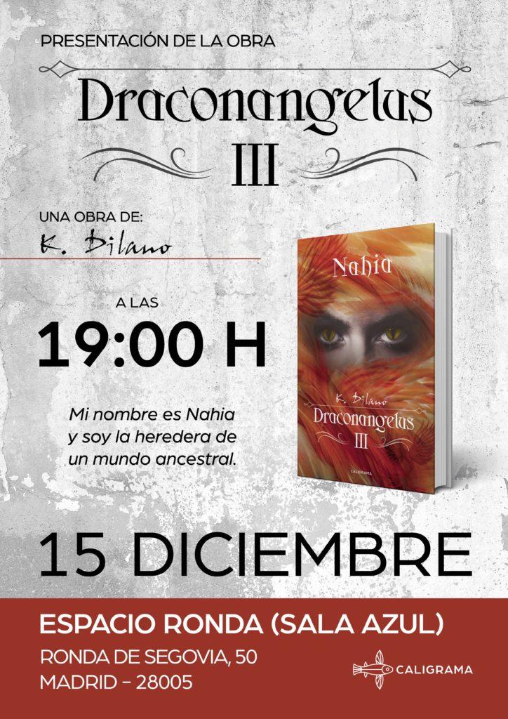 """Presentación del libro """"Nahia. Draconangelus III"""""""