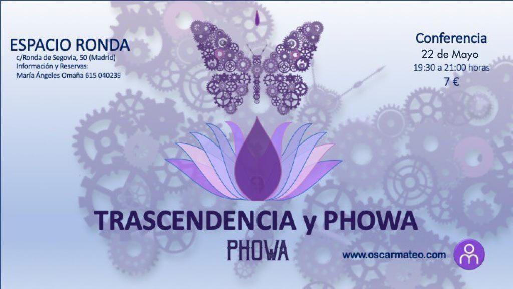"""Conferencia""""Trascendencia y Phowa"""""""