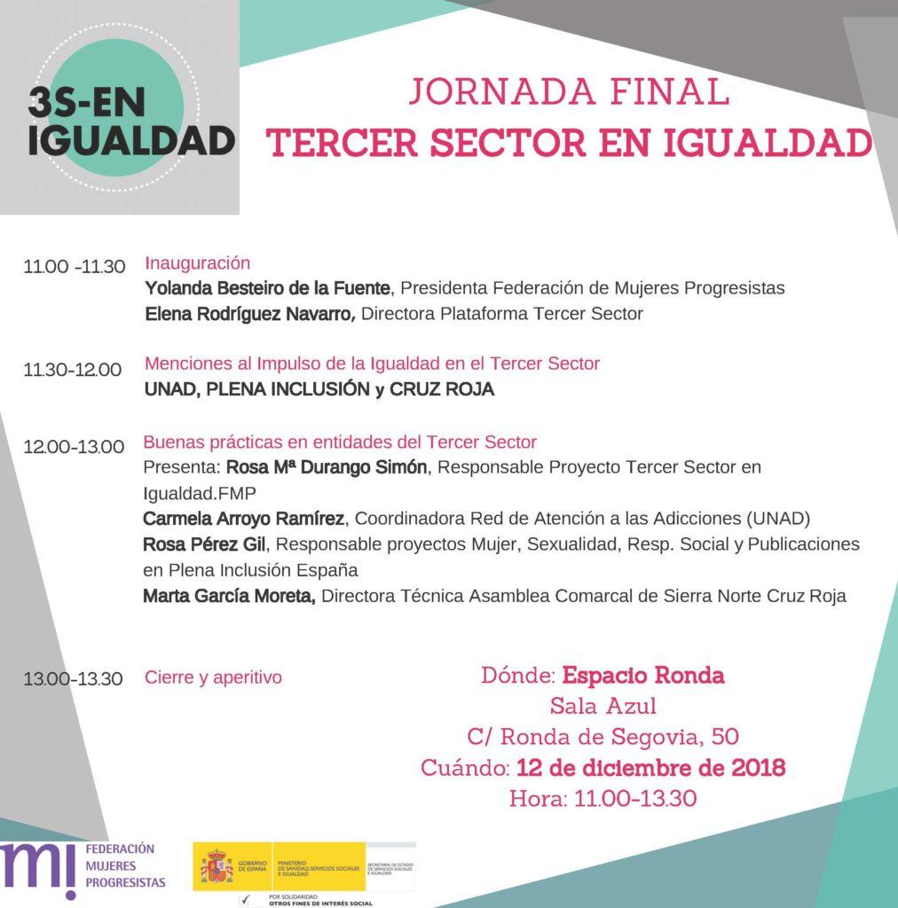 Jornada Final - Tercer sector en igualdad
