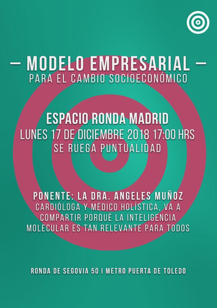 """Conferencia """"Modelo empresarial para el cambio socioeconómico"""""""