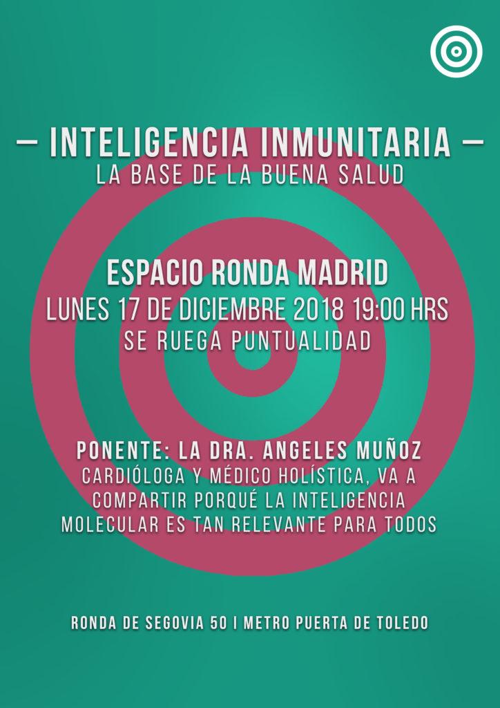 """Conferencia """"Inteligencia Inmunitaria"""" La Base de una Buena Salud"""