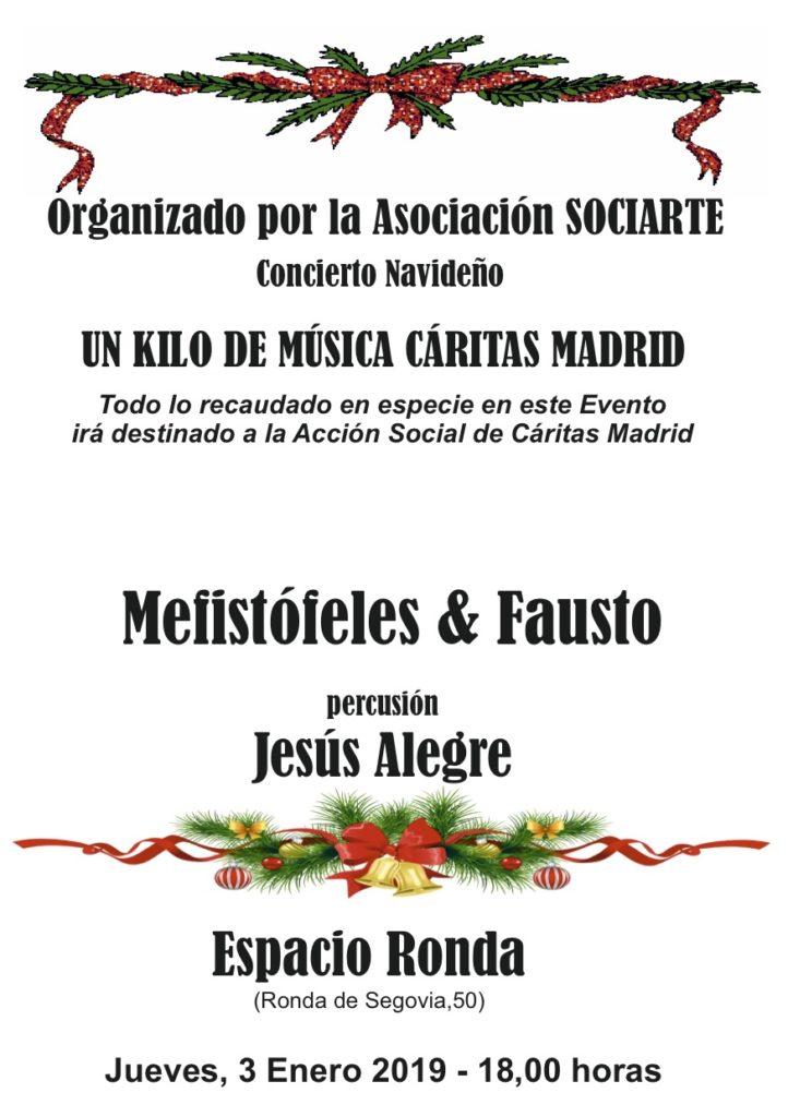 """""""Concierto Navideño"""" Organizado por la Asociación Sociarte"""