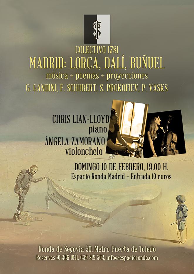Tres Vistas de Madrid - Lorca, Dalí y Buñuel