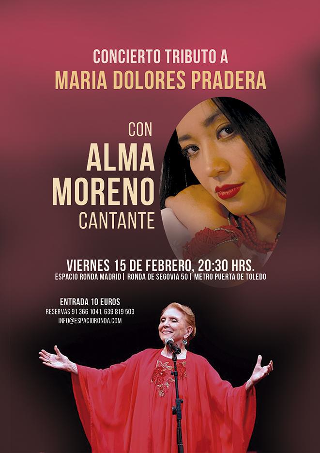 Concierto Tributo a María Dolores Pradera